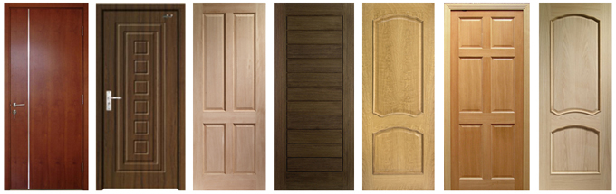 Flush door dealers jaipur distributors hdf moulded door Flush interior wood doors